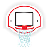 Single basketball ring Stock Photos