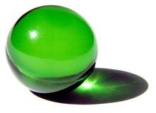 Single bath ball. Single green bath ball Stock Photo