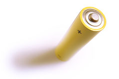 Single battery Royalty Free Stock Photos