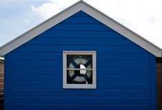 A single beach hut at Southwold Royalty Free Stock Photography