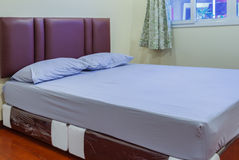 Single bed Stock Image