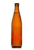 Single beer bottle Stock Photography