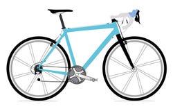 Single bicycle illustration icon Royalty Free Stock Photography