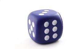 Single big dice Stock Photo