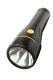 Single black electric torch Royalty Free Stock Photos