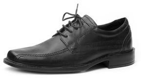 Single black shoe Stock Images