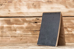 Single blank desk calendar Royalty Free Stock Photography