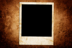 Single blank photo frame Royalty Free Stock Photography