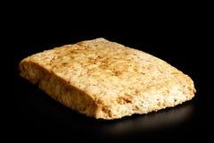 Single block of marinated tofu. Royalty Free Stock Photos