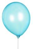Single blue Balloon Isolated On White Background Stock Images
