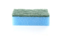 Single blue sponge Stock Photo