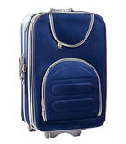 Single Blue suitcase Royalty Free Stock Images