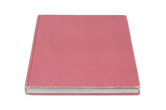 Single book  (Clipping path) Stock Images