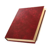 Single book isolated on white. Single book isolated on the white background Royalty Free Stock Images