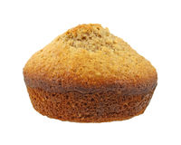 Single bran muffin Royalty Free Stock Images