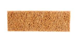 Single bread cracker snack isolated Royalty Free Stock Photos