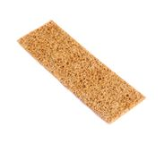 Single bread cracker snack isolated Royalty Free Stock Image