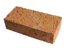 Single brick with granite grains Stock Photo