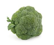 Single broccoli floret Stock Photo