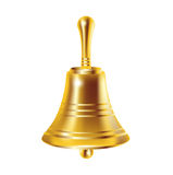 Single bronze bell Royalty Free Stock Image