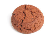 Single brown cookie Stock Images