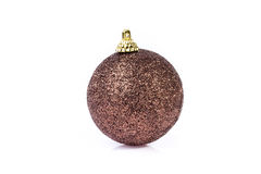 Single brown ornament Stock Images