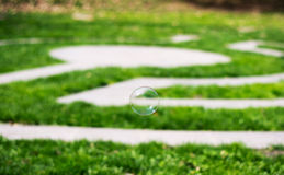 Single bubble Royalty Free Stock Images