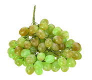 Single bunch of green grape Stock Photo