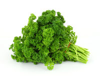 A single bunch of parsley Royalty Free Stock Photo