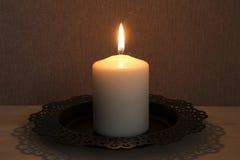 Single Burinig Candle
