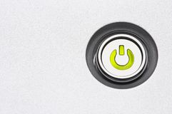 Single button Royalty Free Stock Photos
