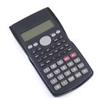 Single calculator Royalty Free Stock Image