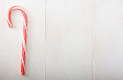 Single candy cane Royalty Free Stock Photos