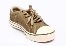 Single Canvas Shoe Stock Photos