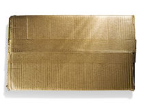 Single cardboard box Royalty Free Stock Photo