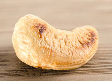 Single cashew nut  ( anacardium occidentale ) Stock Image
