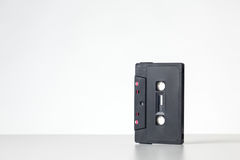 Single cassette tape Royalty Free Stock Image