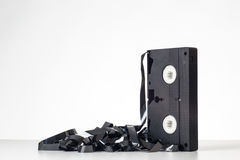 Single cassette tape Stock Photography