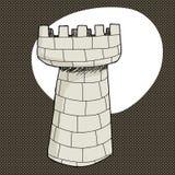 Single Castle Tower Stock Photos