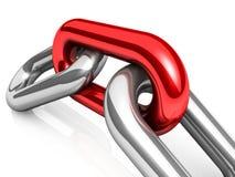 Single chain Stock Photo