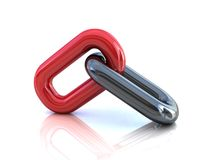 Single chain link Royalty Free Stock Photography