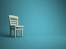 Single chair Royalty Free Stock Photography