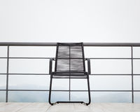 Single chair Royalty Free Stock Images
