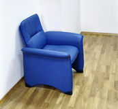Single chair in waiting room Royalty Free Stock Photography