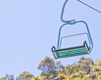 Single Chairlift,. Single Chairlift at Stanley, Tasmania, Australia Stock Images