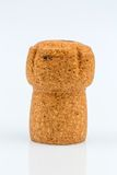 Single champagne cork Royalty Free Stock Images