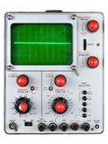 Single channel oscilloscope Royalty Free Stock Photos