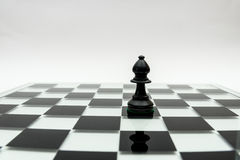 Single chess piece Stock Photography
