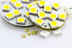 Single-chip não atribuído e três-microplaqueta SMD Foto de Stock Royalty Free