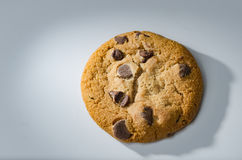 Single Chocolate chip cookie Royalty Free Stock Image